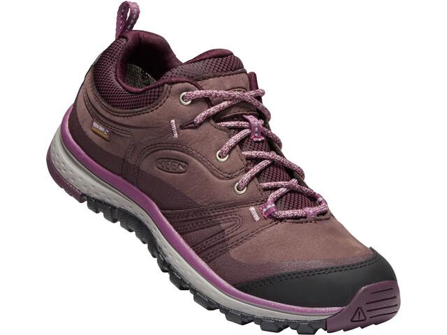 Keen W s Terradora Leather WP Shoes peppercorn wine - addnature.com 2b39897729a89